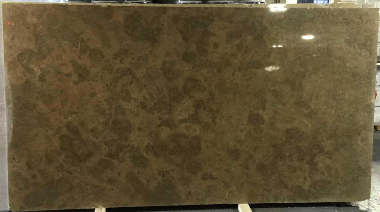 travertino noce slab