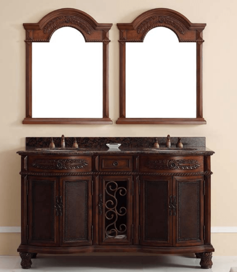 james martin venetian brown cherry vanity