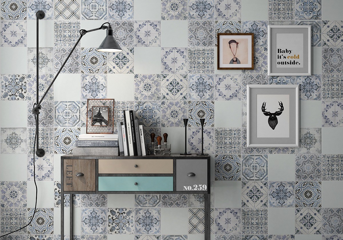 marais + mugat encaustic cement look tile